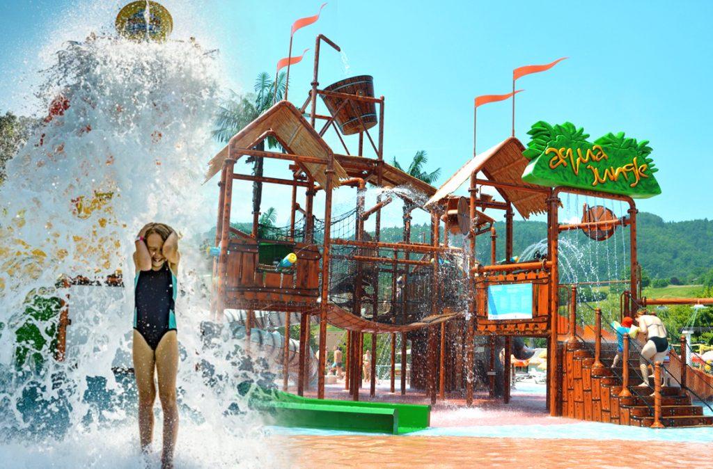 Wasser und Spiel Strukturen
